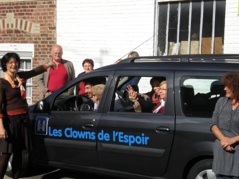 Les Clowns de l'Espoir et Don de Soie... dans Clowns de l'Espoir dondesoie1